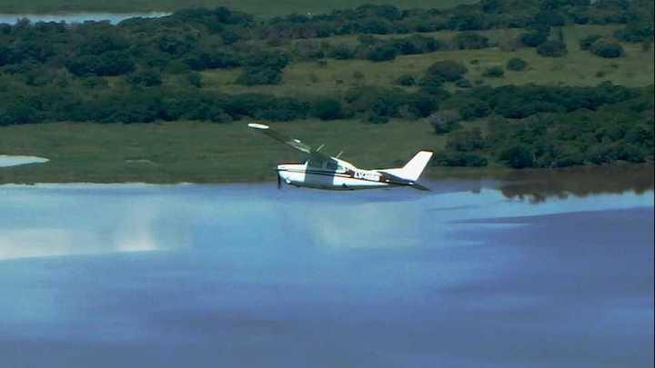 Aviones Pampa interceptaron aeronave con matrícula falsa que volvió aParaguay