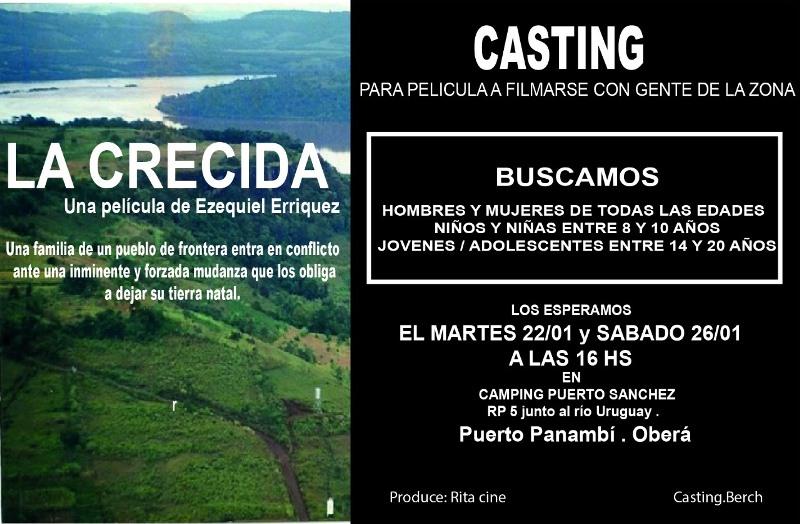 Realizarán casting para un película a filmarse en Panambí sobre larepresa