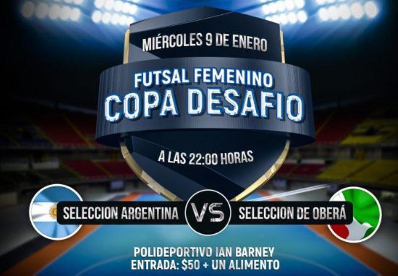 Estrellas misioneras del fútbol  femenino nacional jugarán amistoso en el IanBarney