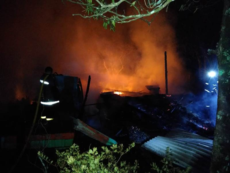 Una anciana falleció tras incendiarse sucasa