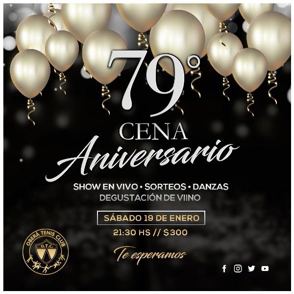 Cena 79° años del OTC elsábado