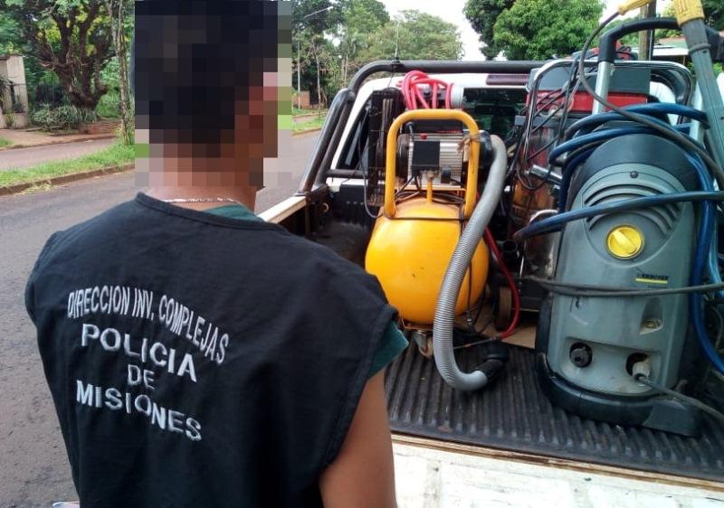 Detuvieron a 3 hombres, secuestraron casi 20 kilos de marihuana y recuperaron objetosrobados
