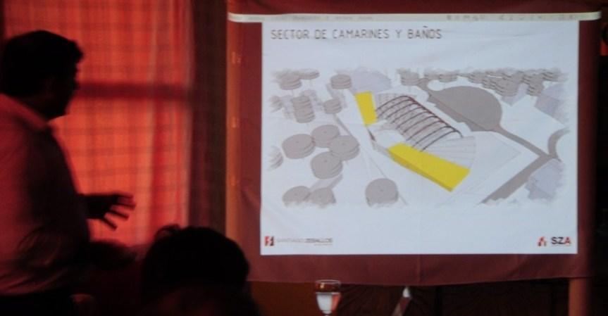 """""""La barca del milenio"""": Presentaron un proyecto para un moderno anfiteatro en el Parque de lasNaciones"""