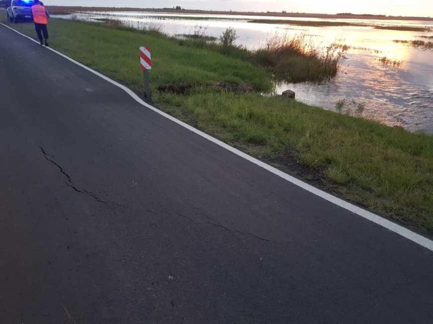 Se interrumpió el tránsito sobre Ruta Nacional 12 KM 874 enCorrientes