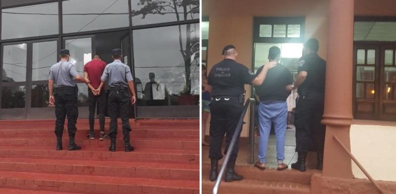 Delincuentes detenidos por el robo a una concesionaria y el asalto a una jubilada en una parada decolectivos