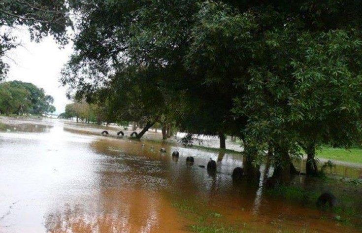 Santo Tomé en emergencia por inundaciones, 40 evacuados y 50autoevacuados