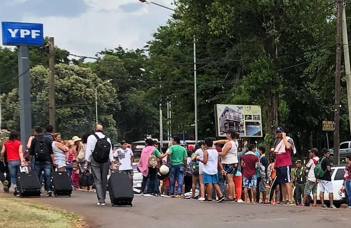 50 mil habitantes sin agua en la capital turística: Vecinos cortarán el acceso a Cataratas si no hayrespuestas