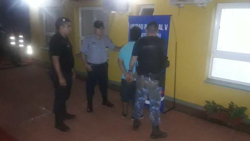 Capturaron a un joven acusado de dispararle con un rifle alvecino