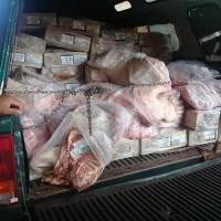 Incautaron y enterraron más de 1000 kg de carne proveniente de Brasil