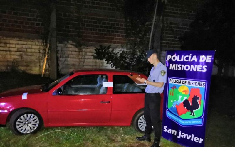 Secuestran auto con documentacióntrucha