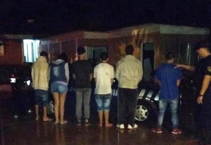 Varios detenidos tras una gresca en el barrioOeste