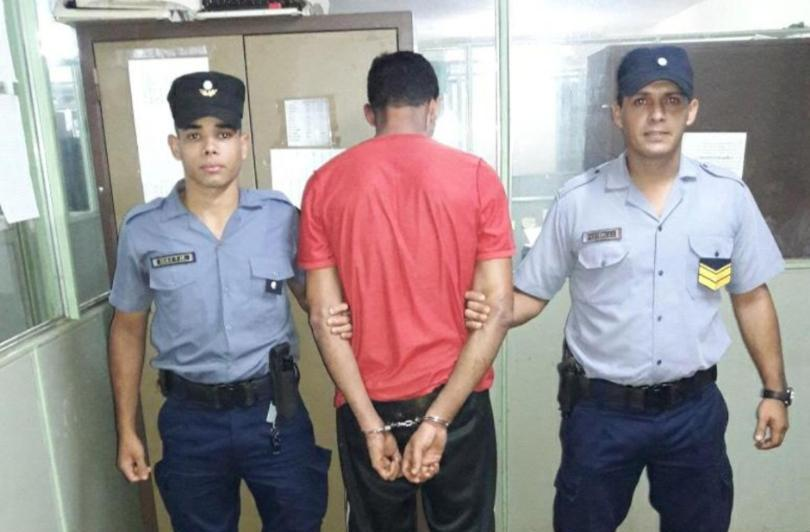 Recapturaron fugado del penal cuando caminaba por la ruta12