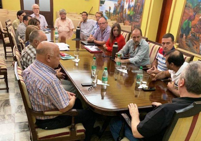 """A pocos meses de las elecciones, Passalacqua pidió """"redoblar esfuerzos"""" a susfuncionarios"""