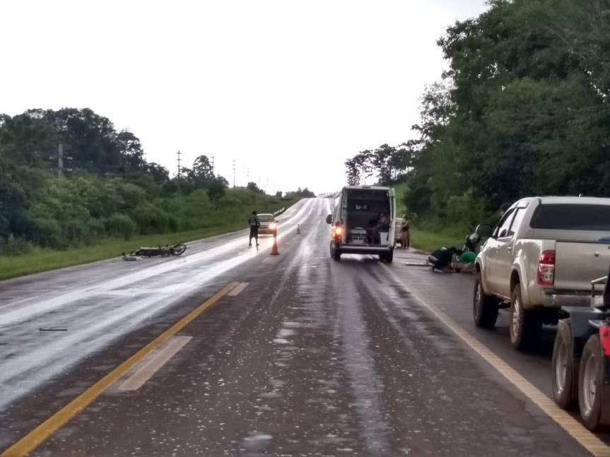 Falleció una menor de 14 años que impactó con una camioneta en la ruta14