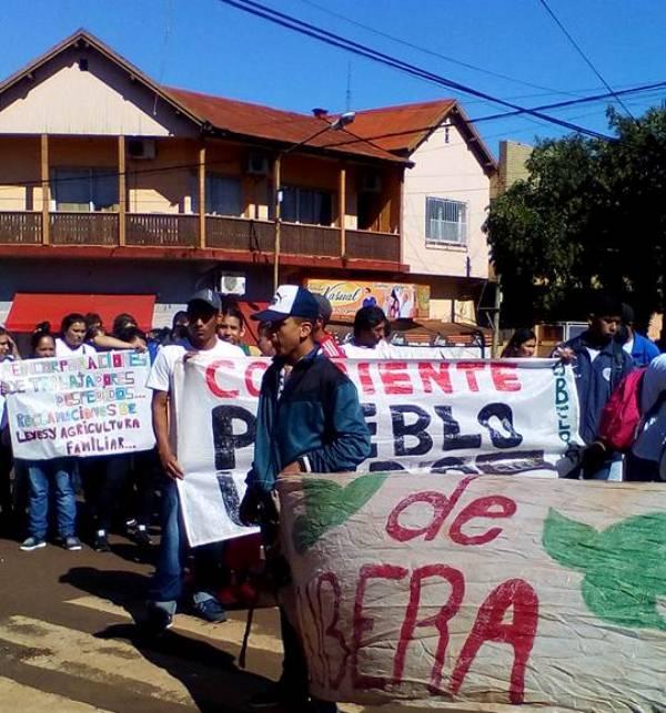 Día de manifestaciones y cortes de rutas en laprovincia