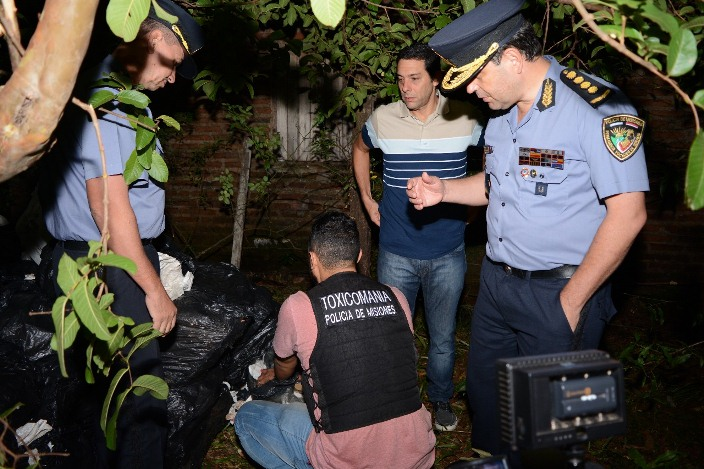 En menos de 9 horas, la Policía secuestró cerca de 1200 kilos demarihuana