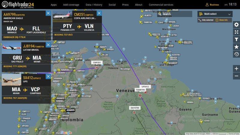 Ayuda humanitaria: Maduro cerró el espacio aéreo y la frontera conBrasil
