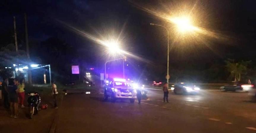 Dos motociclistas heridos tras chocar con unacamioneta