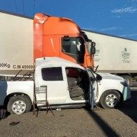 Misioneros chocaron con un camión: un muerto y 4 heridos