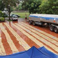 Camión cisterna con 4 toneladas de marihuana: desmienten que pertenezca a Sartori