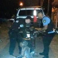 Tras persecución en Cien Hectáreas, secuestraron una moto; otra en Villa Martos
