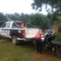 Dos adolescentes demorados tras persecución con una moto robada