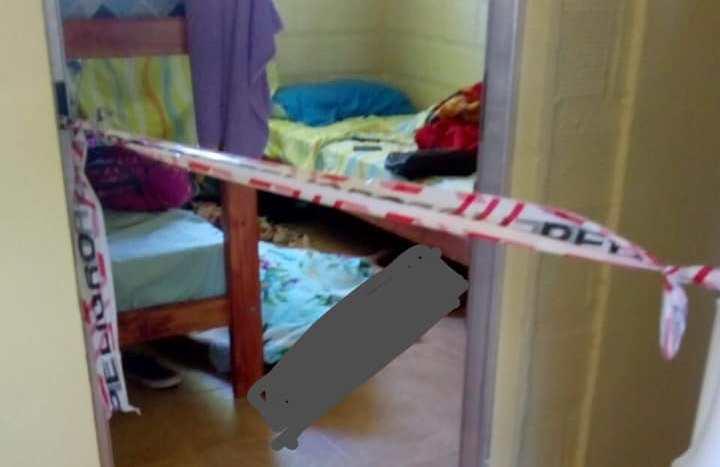 Estudiante fue encontrada colgando de un cable atado a la camacucheta