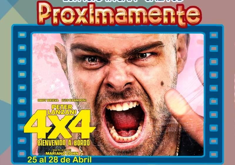4×4 se estrenará en el Cine Incaa 3D el 25 deabril
