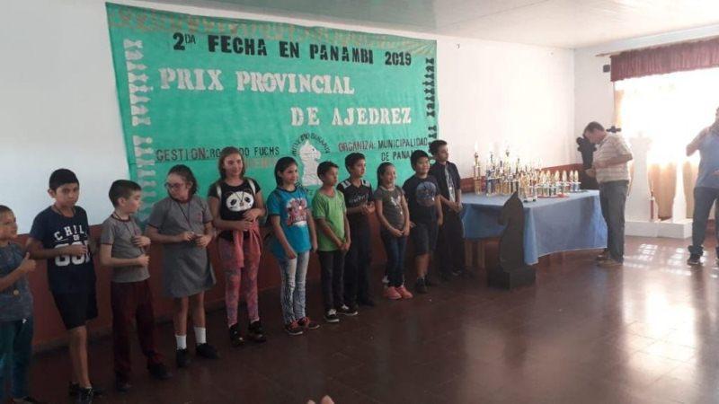 Segunda Fecha del Provincial de Ajedrez con más de 150jugadores