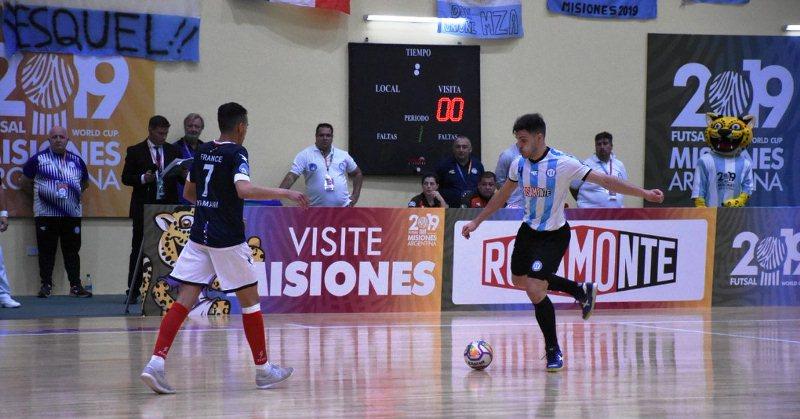 Tras golear 8 a 0 a Francia en el Ian Barney 2,  Argentina enfrenta a Paraguay hoy a las20