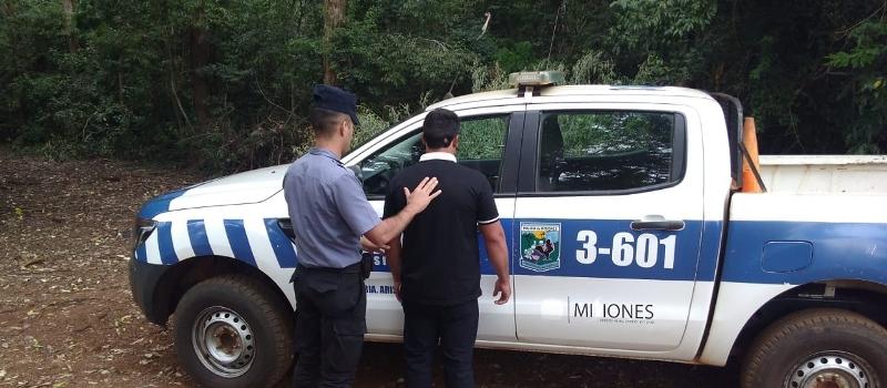 Fue atacado por un sujeto con machete mientras recorría el parque Provincial CuñáPirú