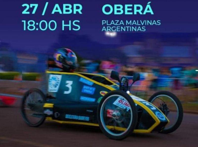 Campeonato Misionero de Autos Eléctricos se correrá el sábado en PlazaMalvinas