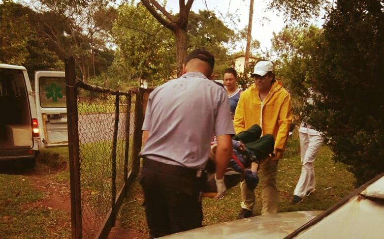 Policías lograron reanimar a un abuelo dado pormuerto