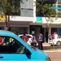 Obereños fueron tomados de rehén durante el asalto a un banco en Brasil