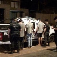 Tras anular el sistema de alarmas entraron a robar a una casa en el km 9