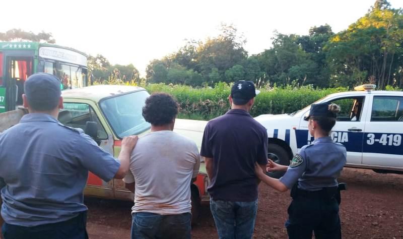 Evadieron un control en la ruta 14, intentaron chocar un patrullero y tras persecución fuerondetenidos