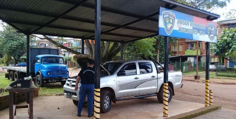 Secuestraron camioneta con motor y chasisadulterados