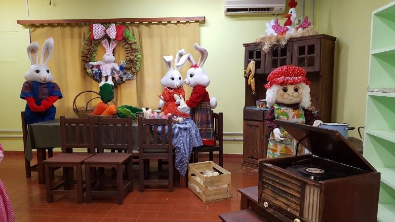 La Casa de los Conejos, un atractivo para este fin desemana