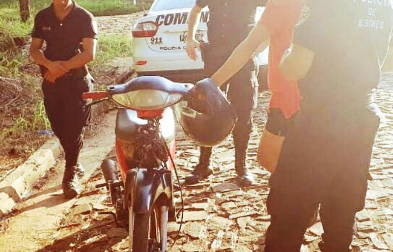 Motociclista ebrio zigzagueaba y fuedetenido