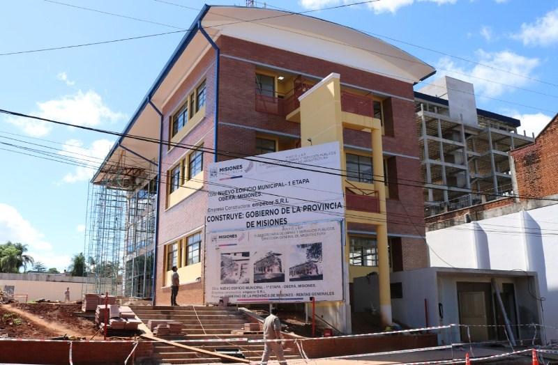 Passalacqua y Fernández inaugurarán 1° etapa del nuevo edificiomunicipal