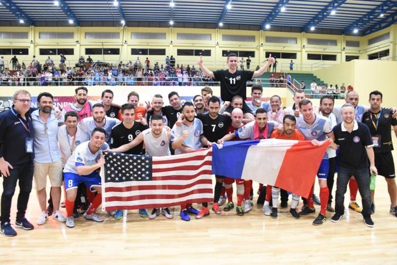 Catalunya goleó 11-1 a Nepal; Italia 6-5 ante Australia y Francia 4-3 sobre EstadosUnidos