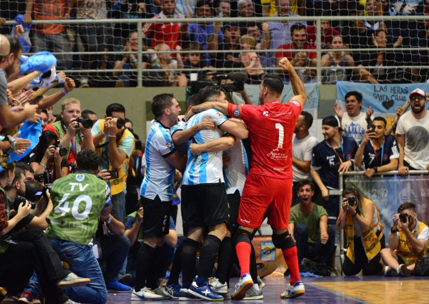 Argentina le ganó a Brasil 3-2 en Montecarlo y se quedó con el 12° Mundial deFutsal