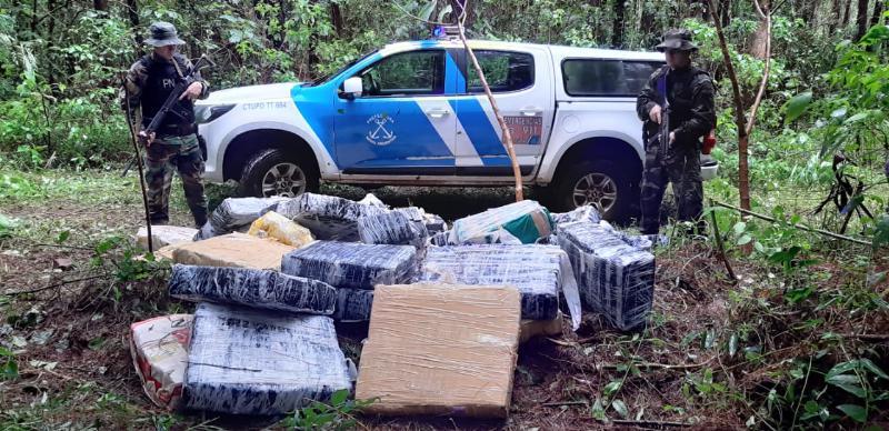 Interceptaron cargamento de más de una tonelada de marihuana valuada en más de $50millones