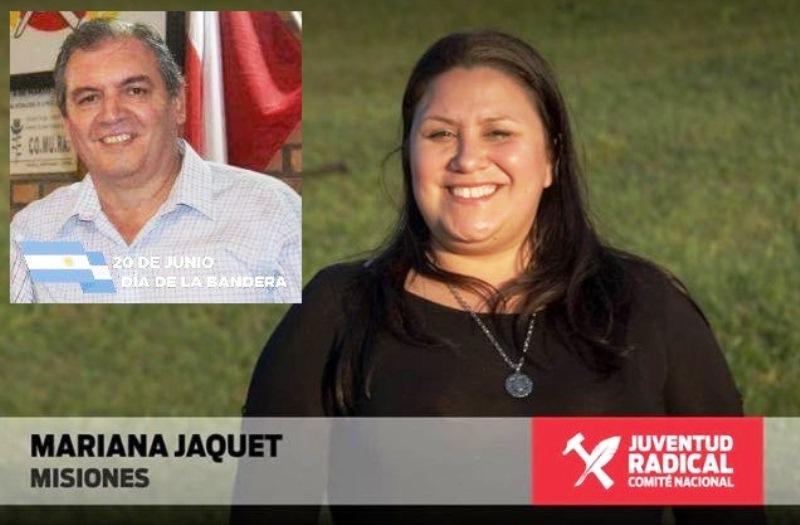 """Tiny"" Jaquet será candidata a primer concejal en la fórmula con EduardoCamerano"