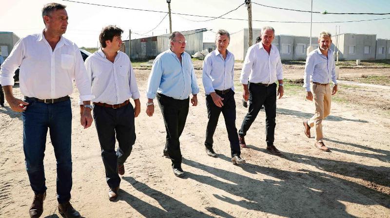 """Macri: """"Sé lo que cuesta llegar a fin de mes, pero estamos construyendo elpaís"""""""