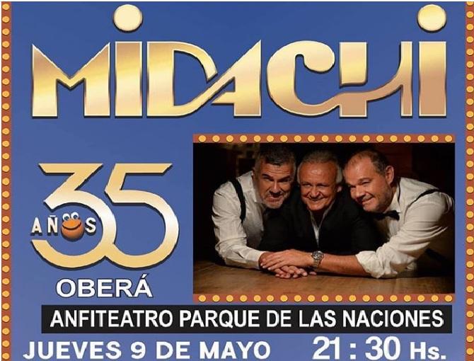 Están disponibles las entradas para el show de Midachi entre 600 y 950pesos