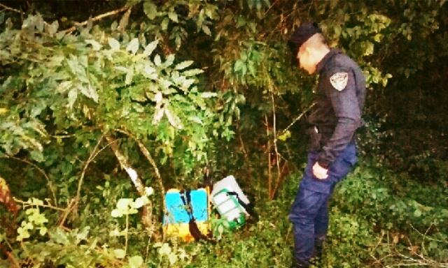 Demoraron a un adolescente de 15 años, robó y escondió en elmonte
