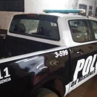 Atacaron dos patrulleros durante la detención del sujeto que fue ayudado por vecinos a escapar en San Miguel