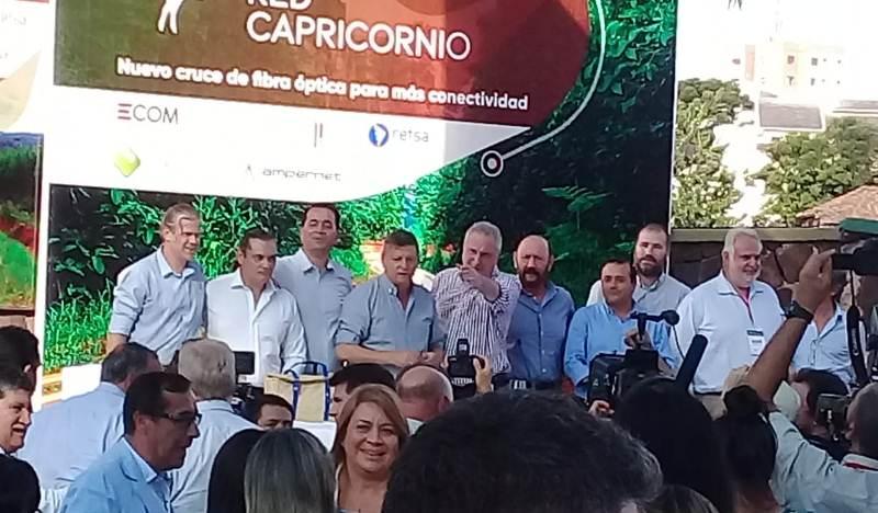 La CELO presente en la inauguración de la Red Capricornio que mejorará la velocidad deinternet