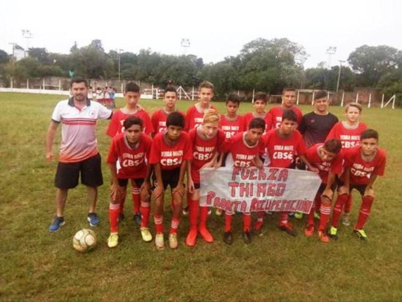 """Fútbol solidario el 1 de Mayo """"Todos porTiago"""""""